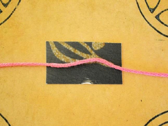 Как сделать красную нитку 693