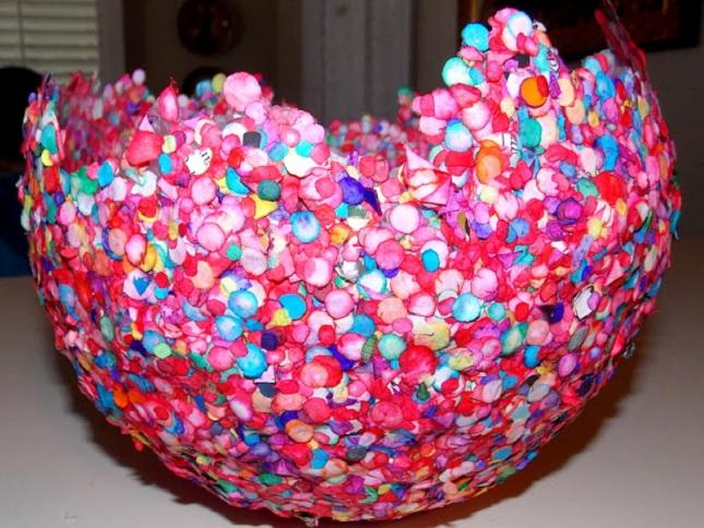 Как сделать шары в вазу