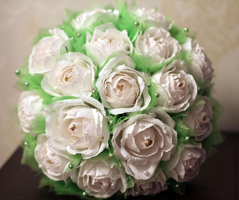 Роза мастер класс для букета из конфет своими руками
