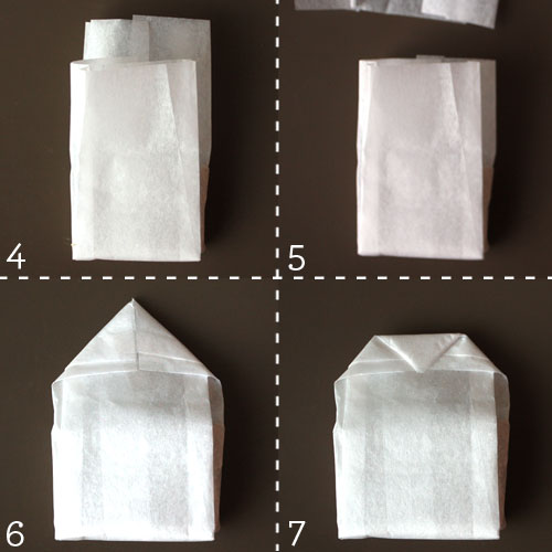 Как сделать пакет для мыла
