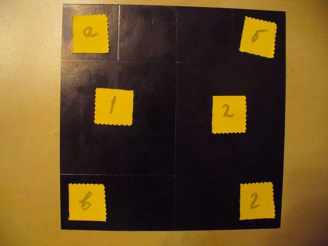 Разлиновка квадратов