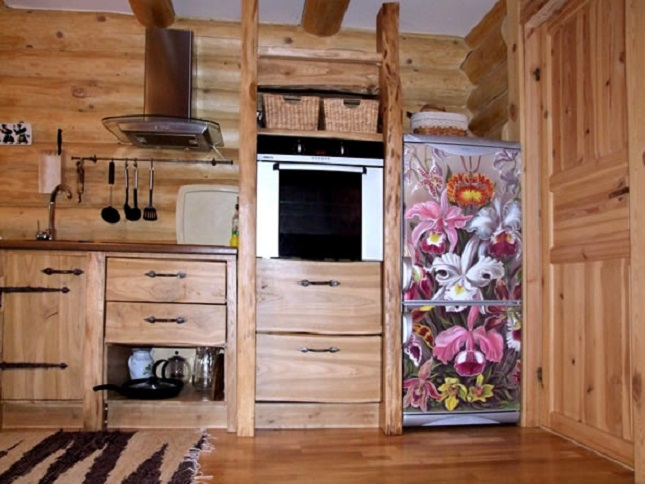 Обновить старый холодильник своими руками